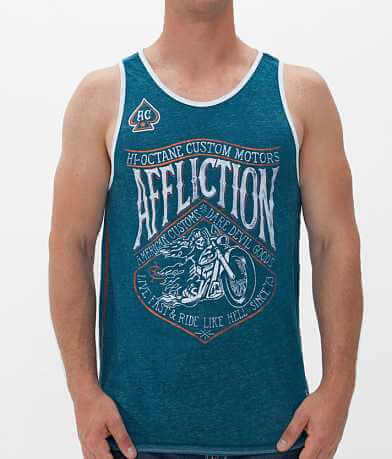 Affliction American Customs Sidecar Tank Top