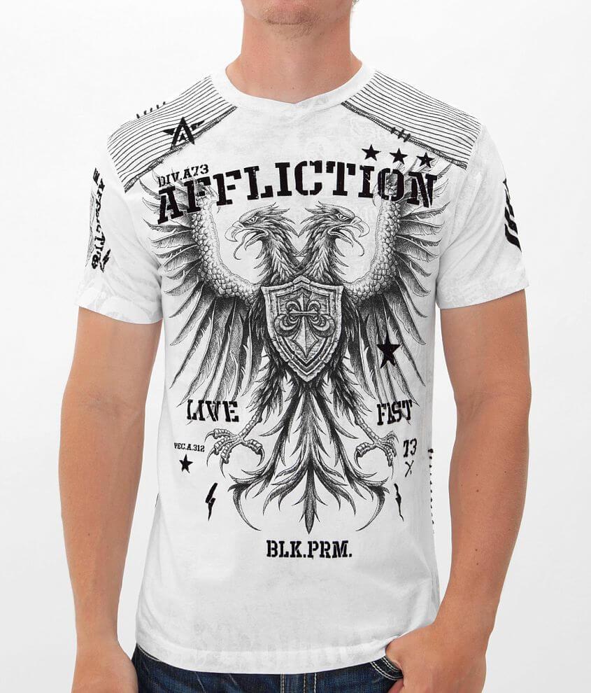 Affliction Enlist T-Shirt front view