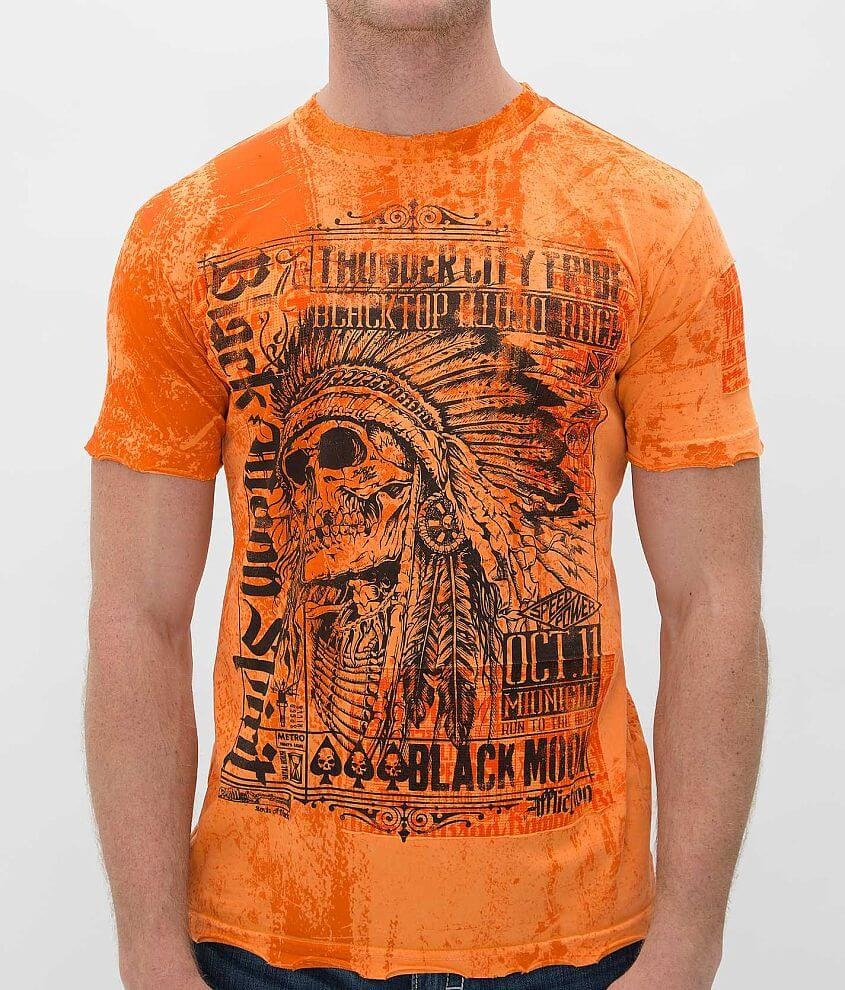 Affliction Thunder City T-Shirt front view