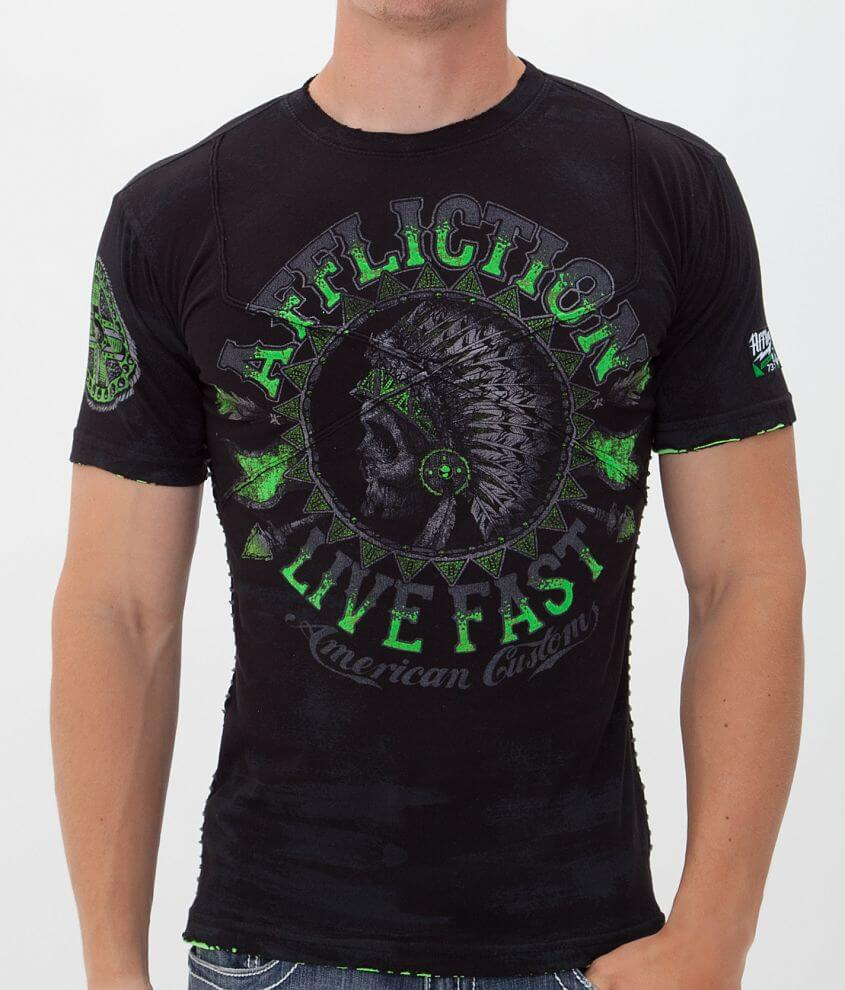 Affliction American Customs Stampede T-Shirt front view