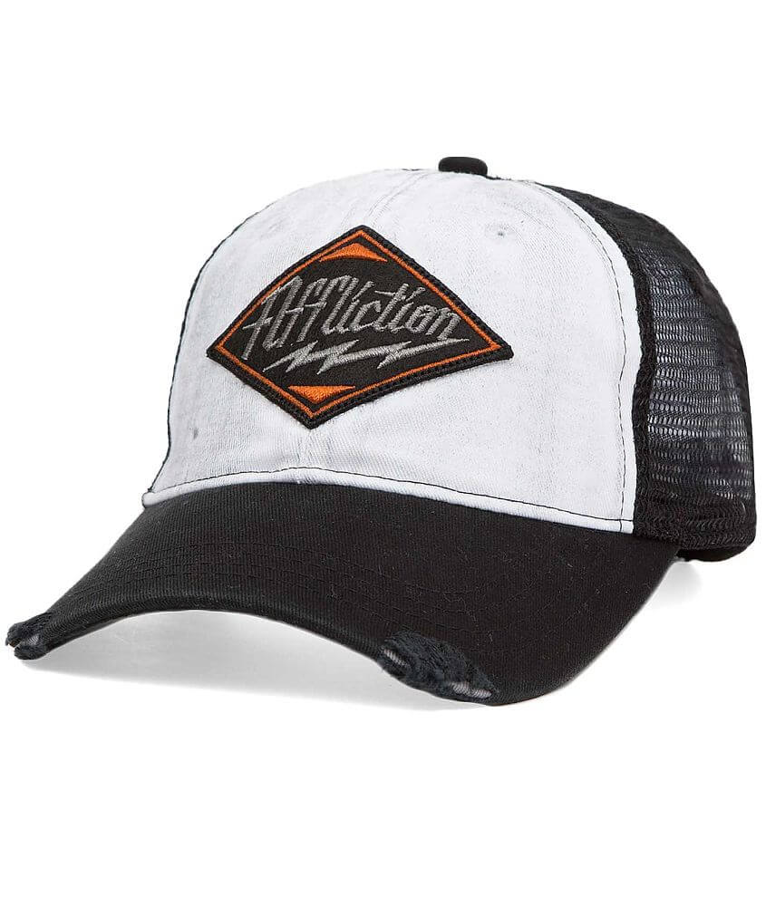 Affliction Phaser Trucker Hat front view