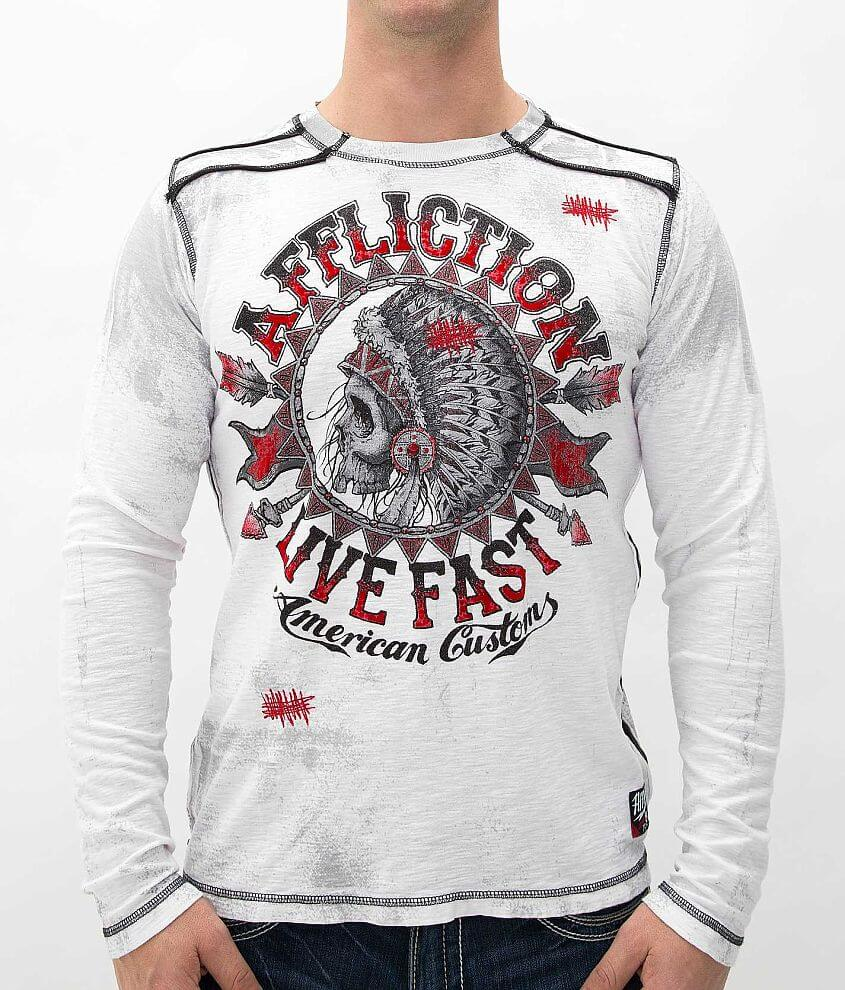 Affliction Stampede T-Shirt front view