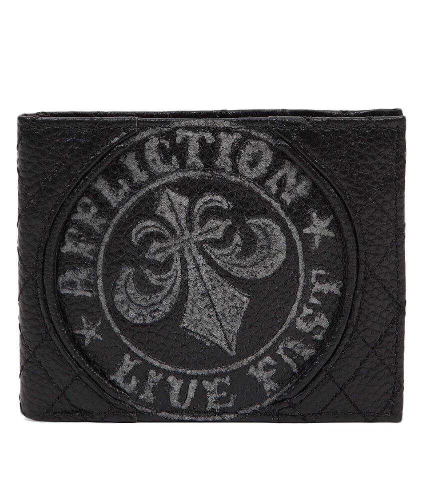 Affliction Fast Time Wallet front view