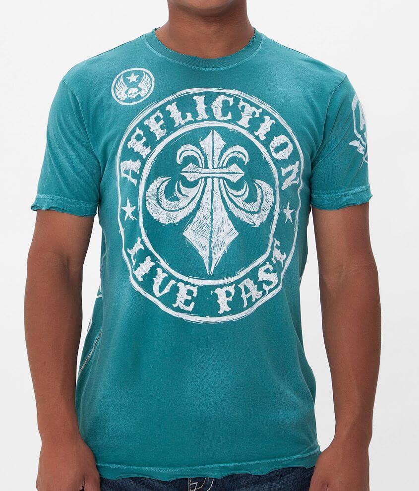 Affliction Divio Sketchbook T-Shirt front view