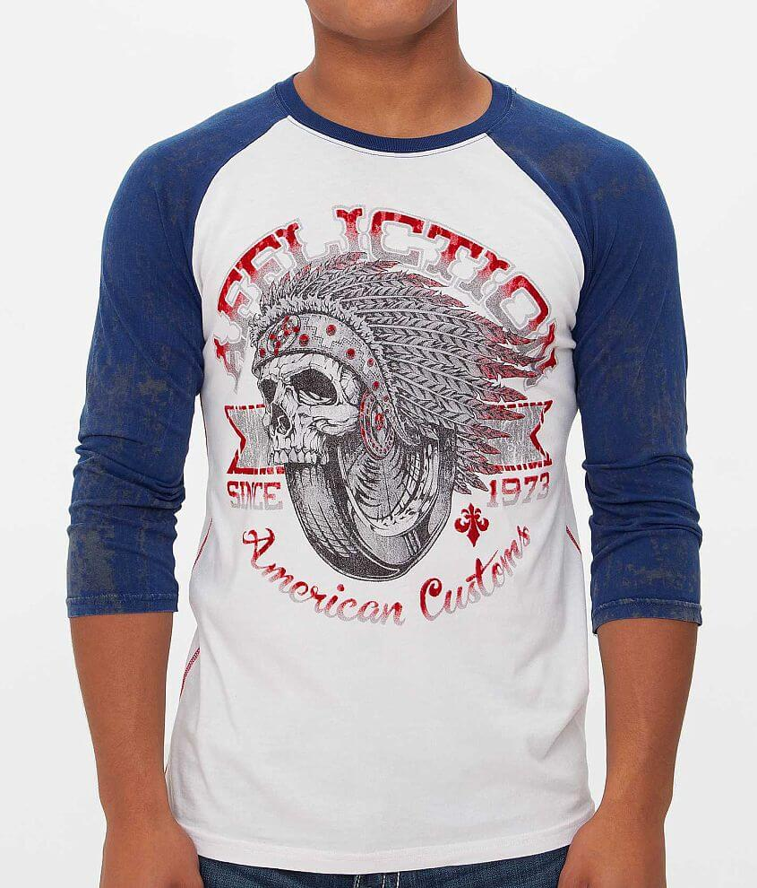 Affliction American Customs Bull Run T-Shirt front view