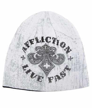 Affliction Royal Rust Reversible Beanie