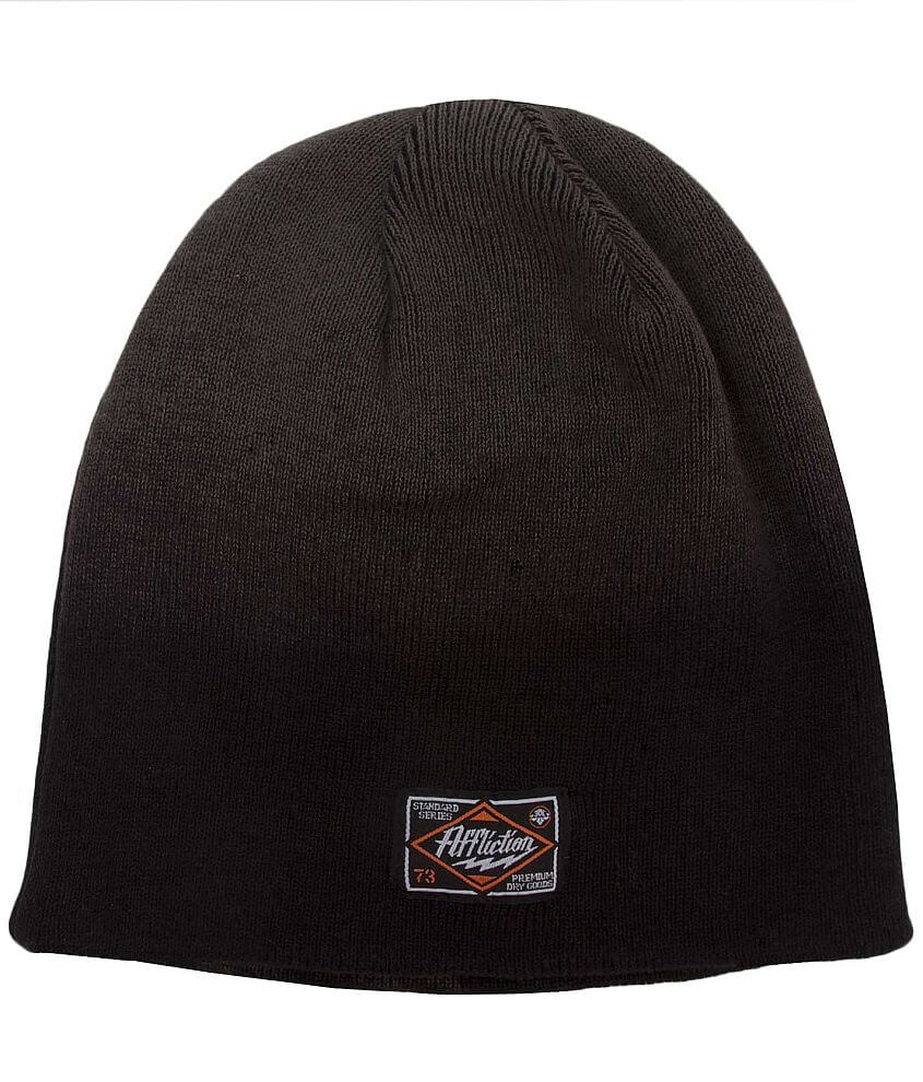 Affliction Value Reversible Beanie front view