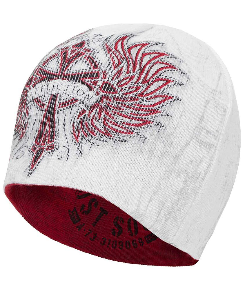 Affliction Chromatic Reversible Beanie front view