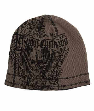 Affliction Black Pool Reversible Beanie