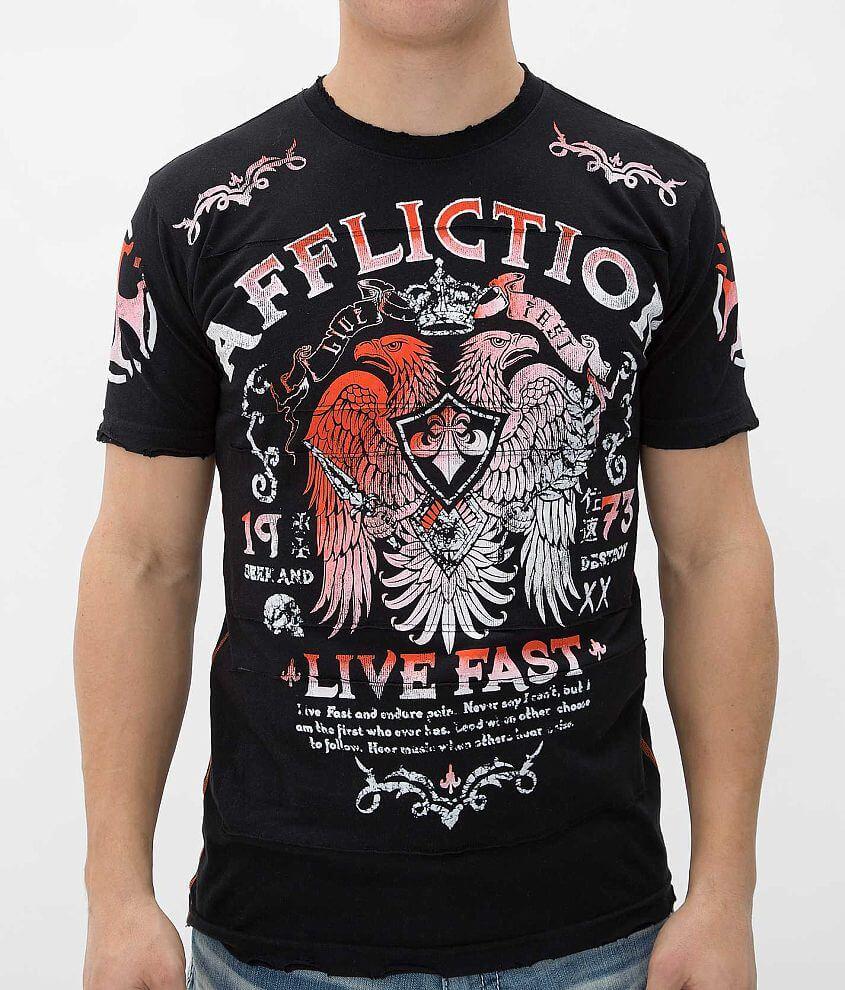 Affliction Collision Course T-Shirt front view