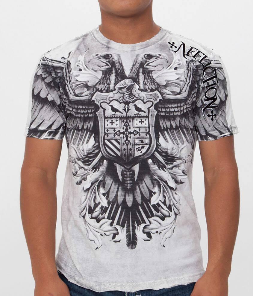 Affliction Death Flight T-Shirt front view