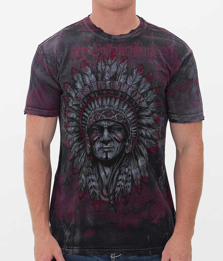Affliction Wabash T-Shirt front view