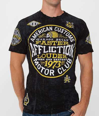 Affliction American Customs Petrol T-Shirt