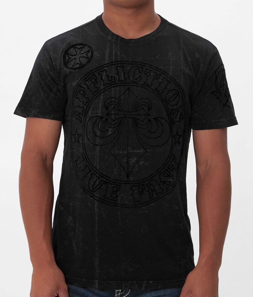 Affliction Divio Eclipse T-Shirt front view
