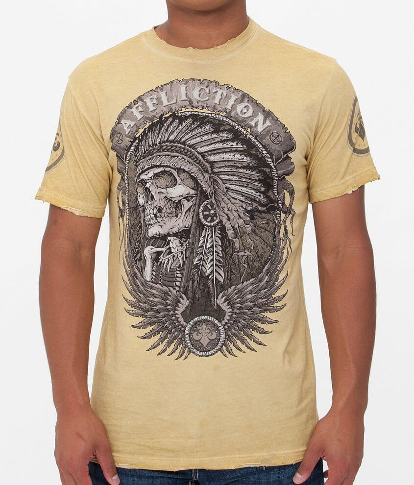 Affliction Thunderfoot T-Shirt front view