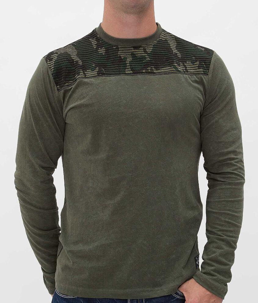 Affliction Standard Football T-Shirt front view
