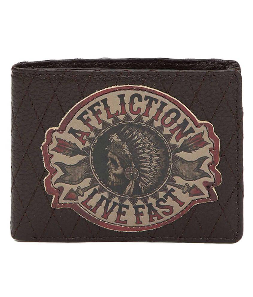 Affliction Stampede Wallet front view