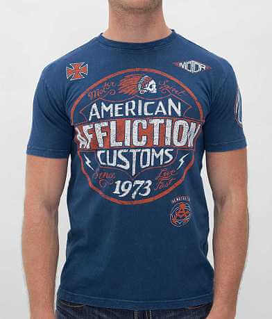 Affliction American Customs Garage T-Shirt