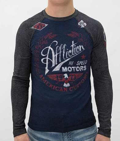 Affliction Fast Times Thermal Shirt