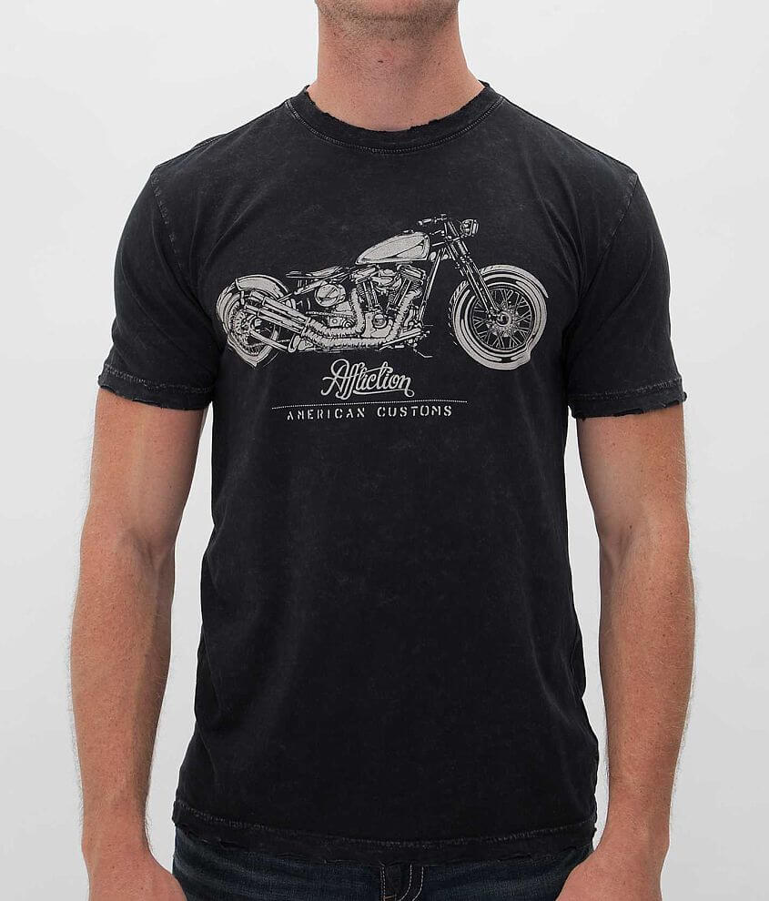 Affliction American Customs Framed T-Shirt front view