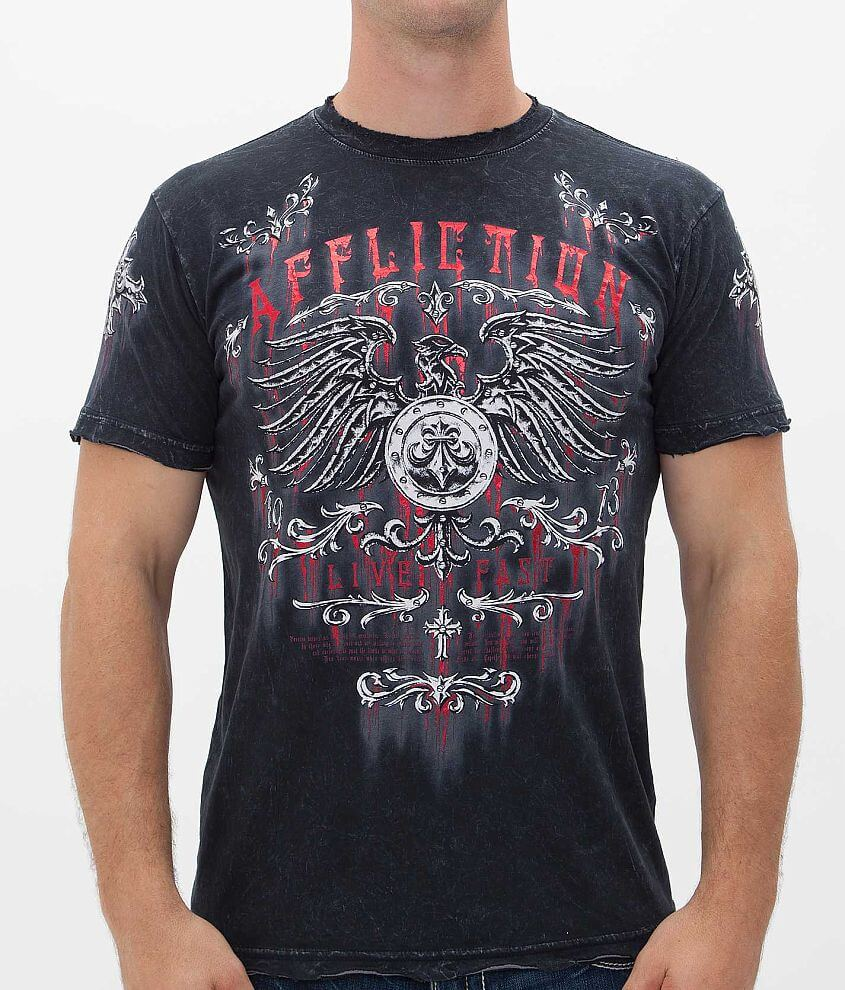 Affliction Secure T-Shirt front view