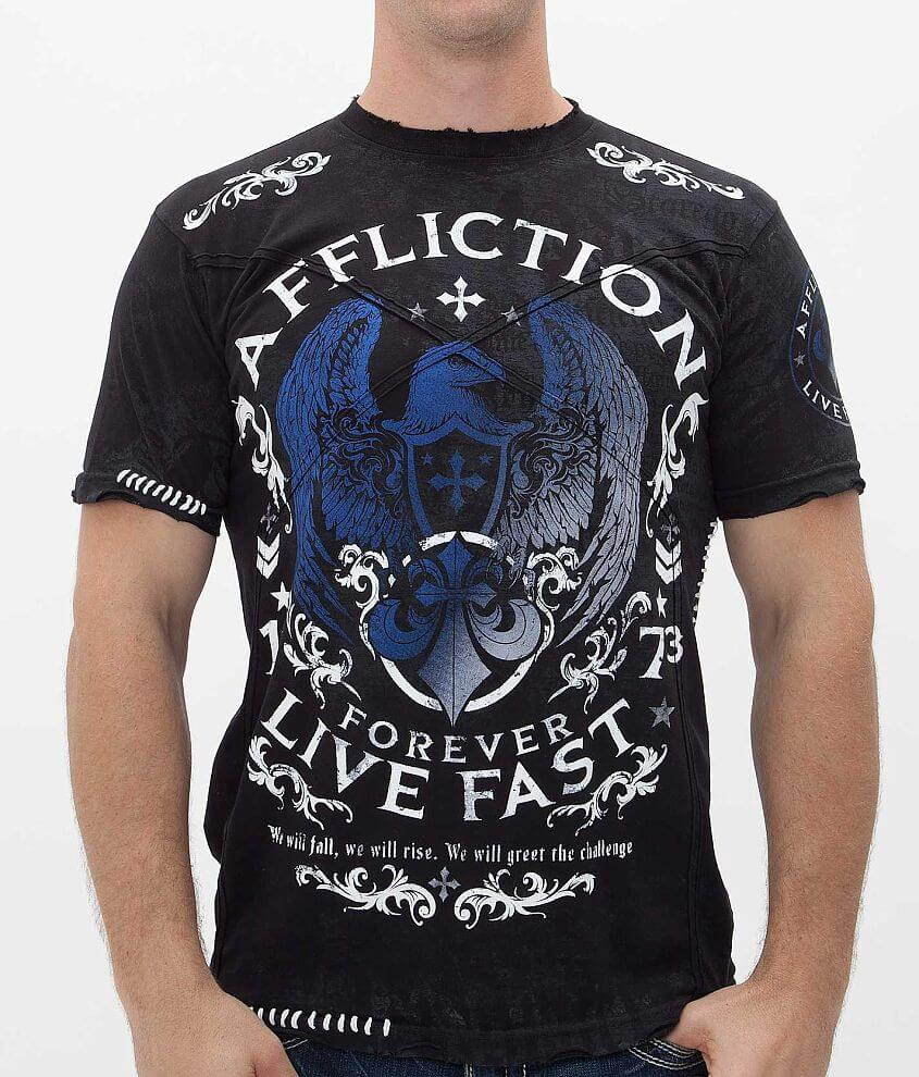 Affliction GSP Virtue T-Shirt front view