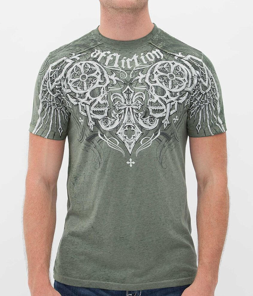 Affliction Deadly Pair T-Shirt front view