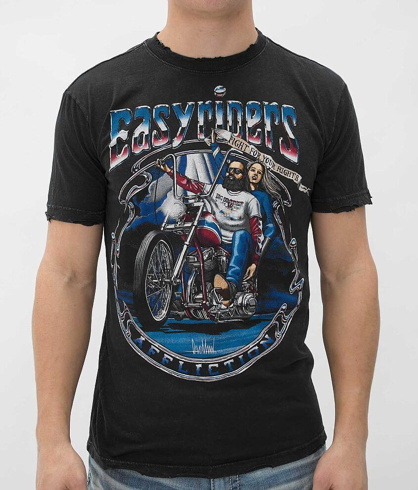 Affliction Easyriders Liberty T-Shirt front view
