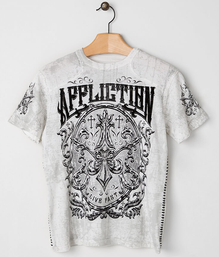 Affliction Abrasive T Shirt | Top and Clothing