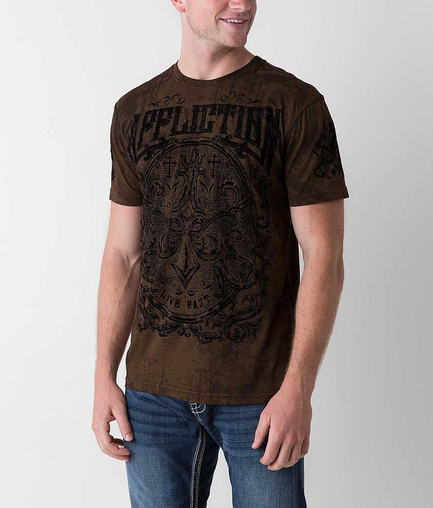 Affliction Abrasive T-Shirt front view