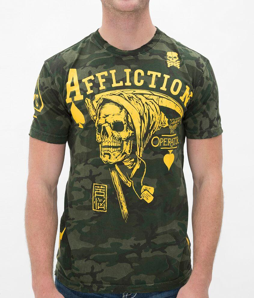 Affliction Operator Peacemaker T-Shirt front view