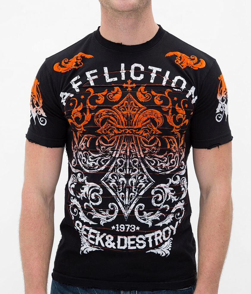 Affliction Signify T-Shirt front view