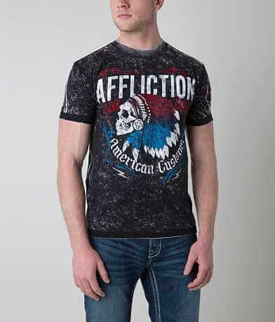 Affliction American Customs Skull T-Shirt
