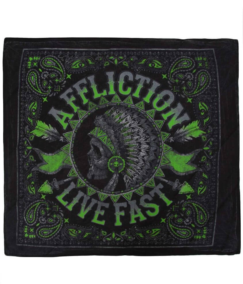 Affliction American Customs Stampede Bandana front view