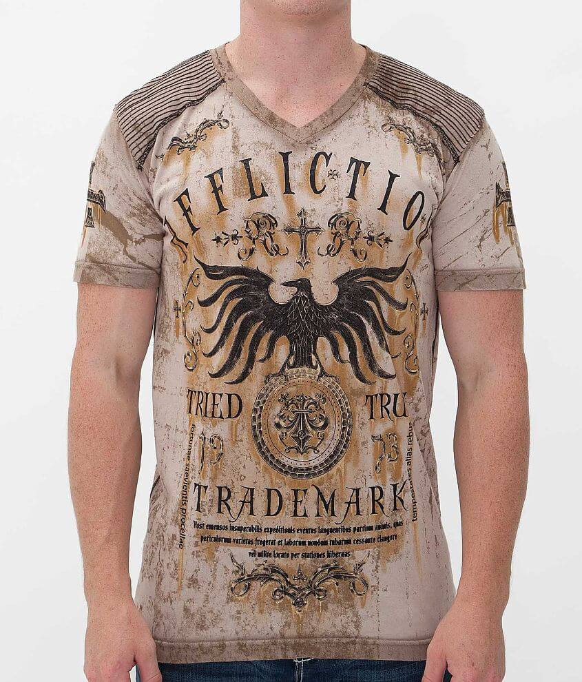 Affliction Tried T-Shirt front view