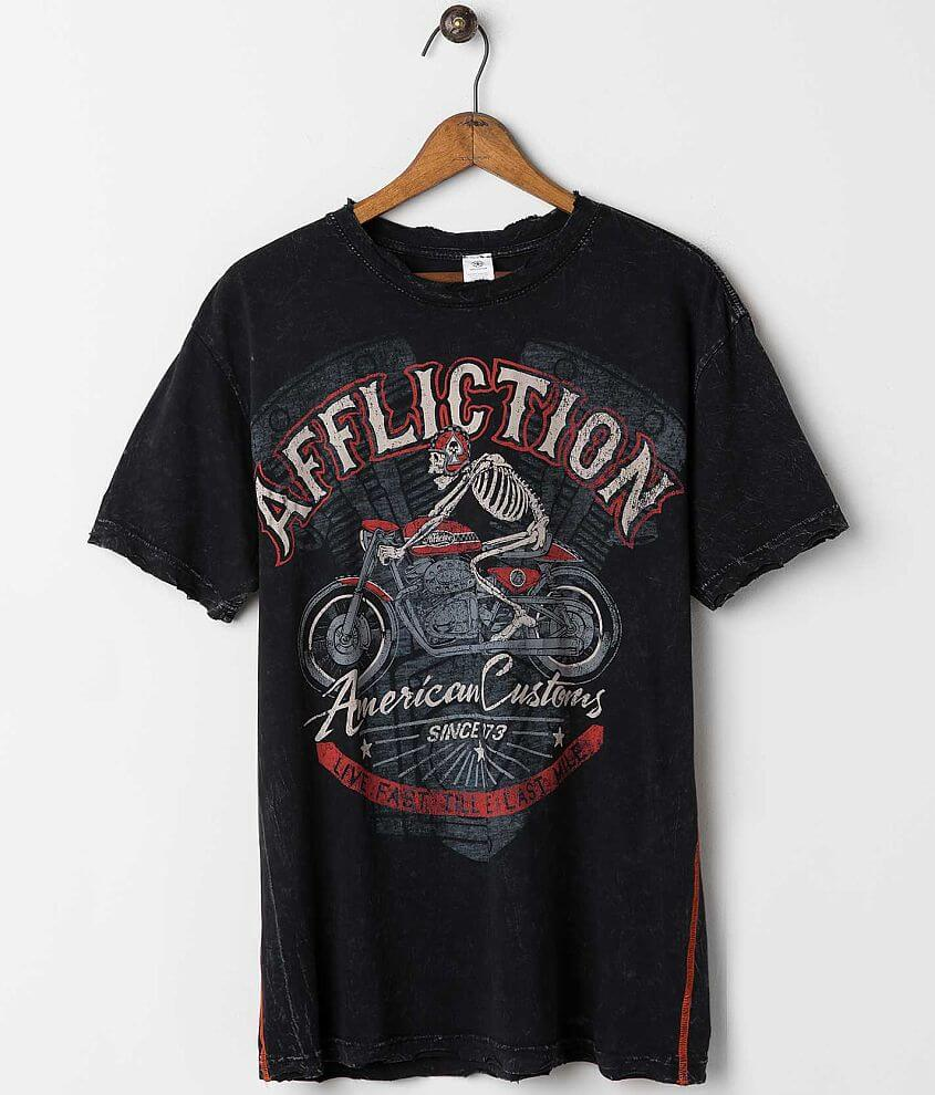 Affliction American Customs Racer T-Shirt front view