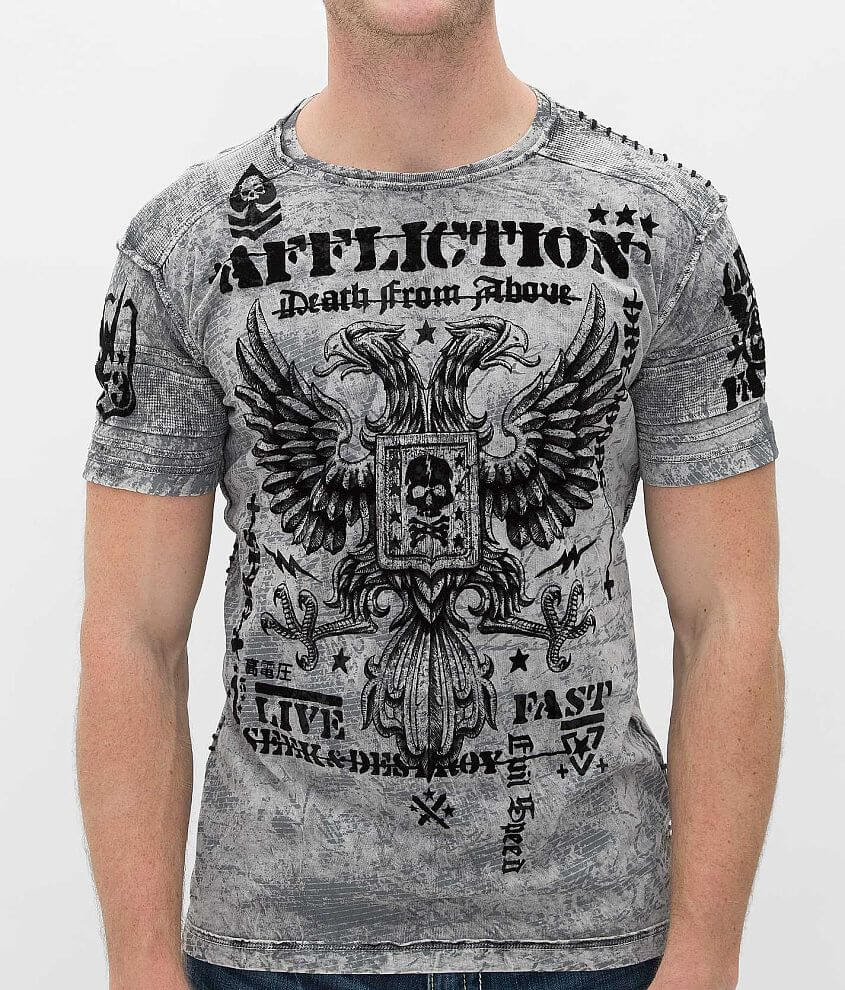 Affliction Warhawk T-Shirt front view