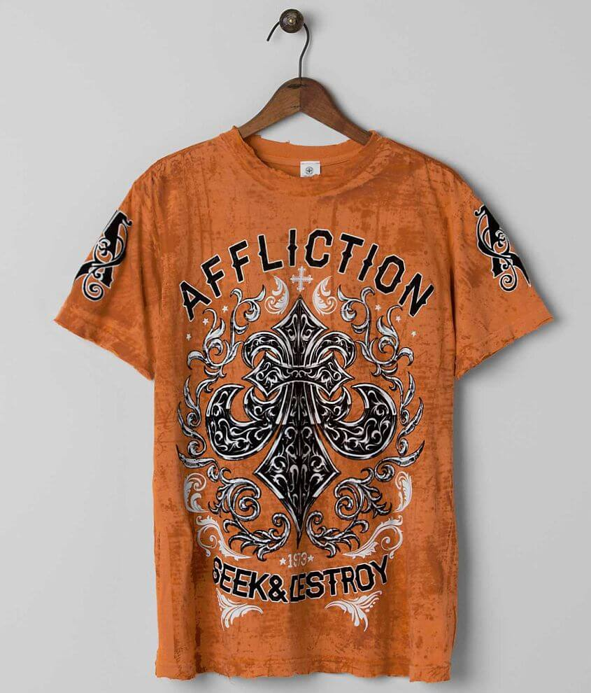 Affliction Signify Reversible T-Shirt front view