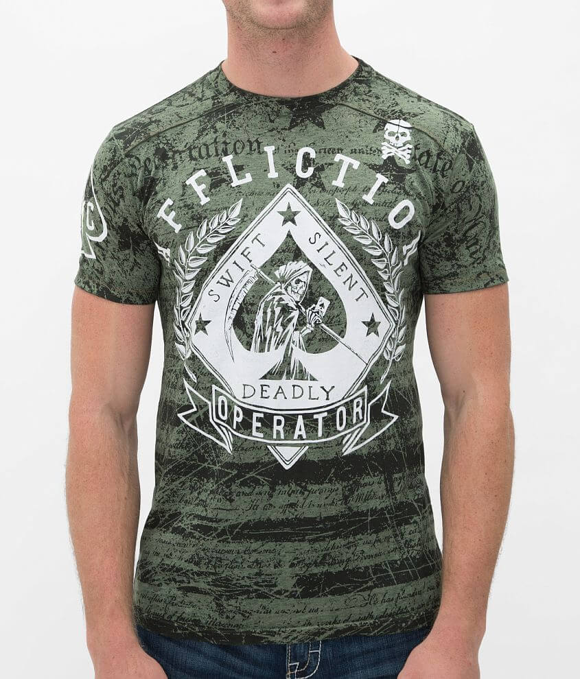 Affliction Pacemaker T-Shirt front view