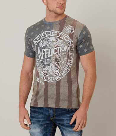 Affliction American Customs Sawmill T-Shirt