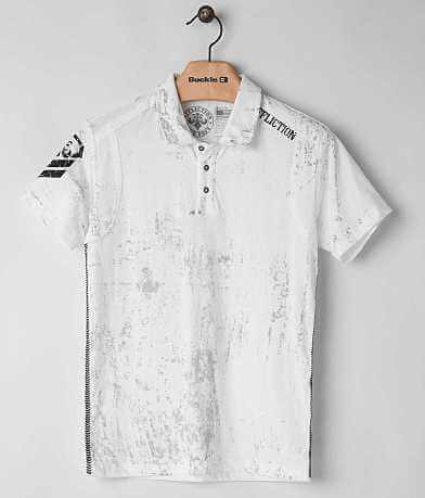 Affliction Disjointed Polo