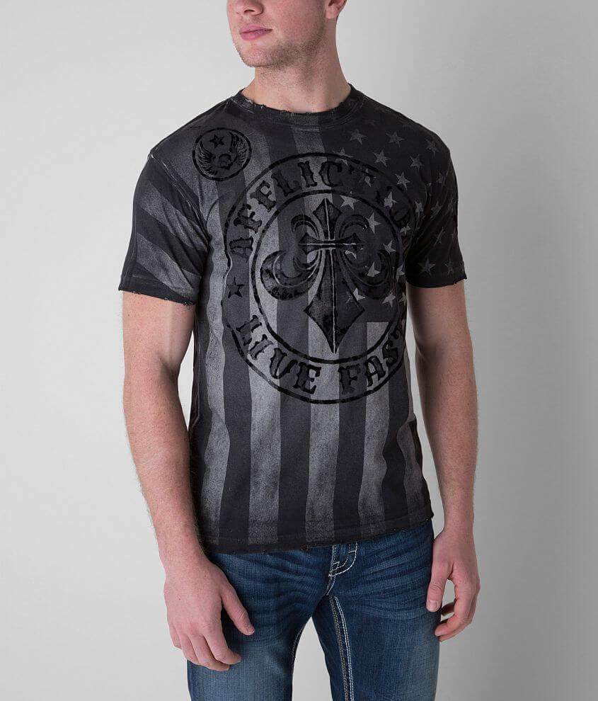 Affliction Divio Varnish T-Shirt front view