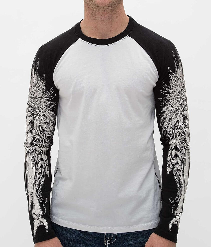 Affliction Tribal Blade T-Shirt front view
