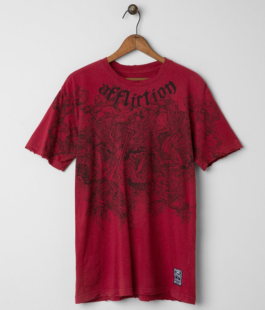 Affliction Ten Year Anniversary Angels T-Shirt front view