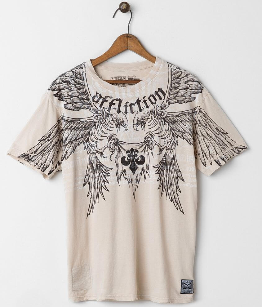 Affliction Birds of Prey T-Shirt front view
