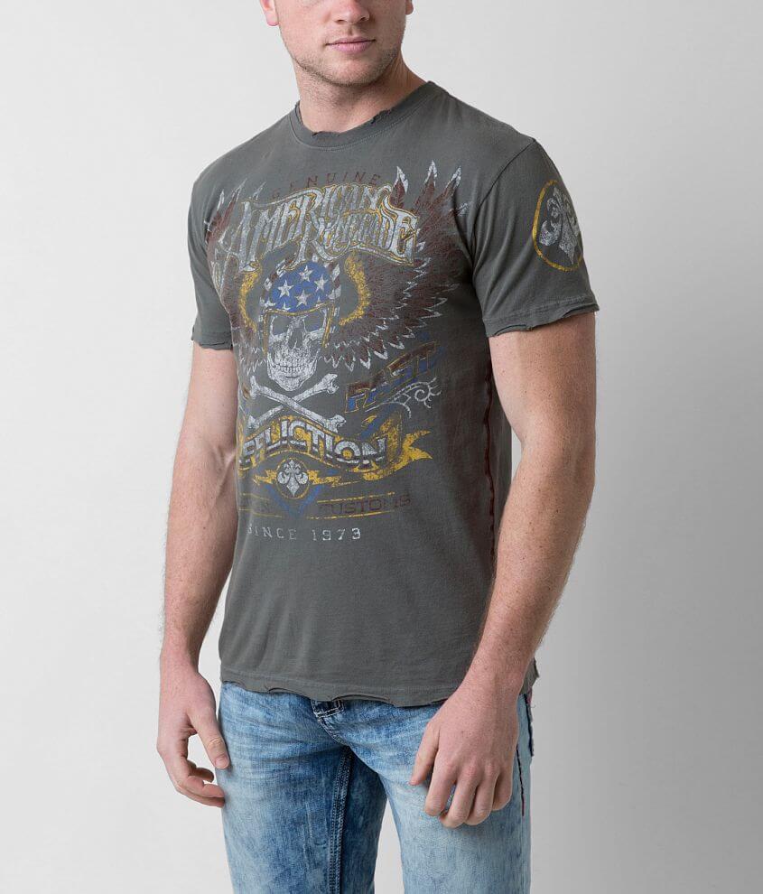 Affliction Highway Stranger T-Shirt front view