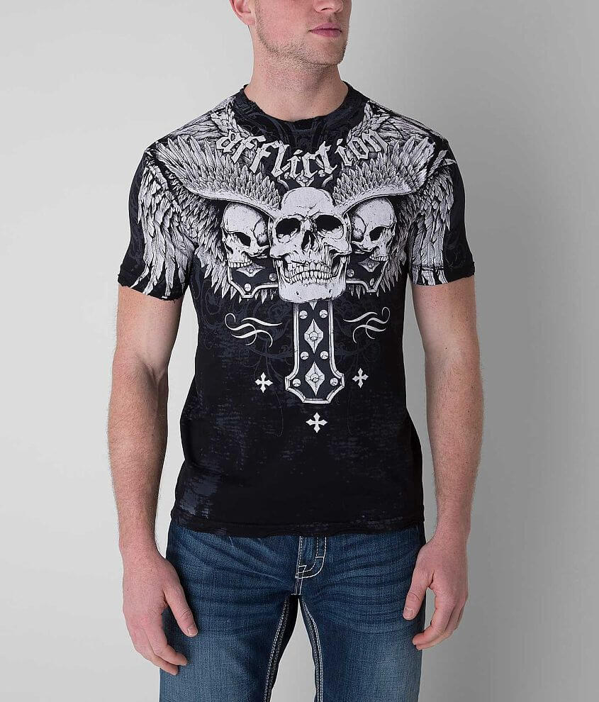 Affliction Secular T-Shirt front view
