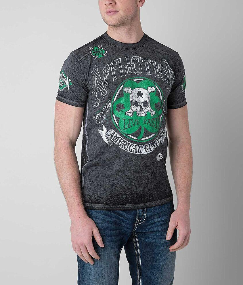 Affliction American Customs Ides of March T-Shirt front view