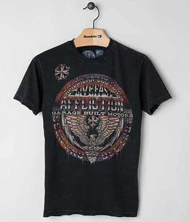 Affliction American Customs Union Chrome T-Shirt