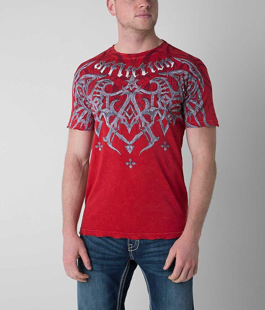 Affliction Eagle Pride T-Shirt front view